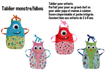 Image de  Tablier cuisine monstre