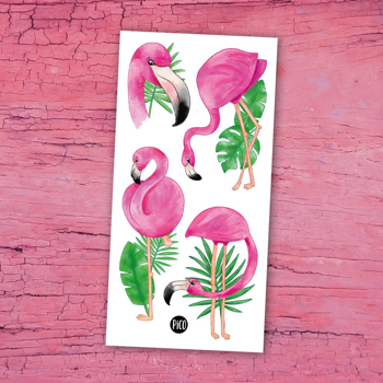 Image de Les flamants roses